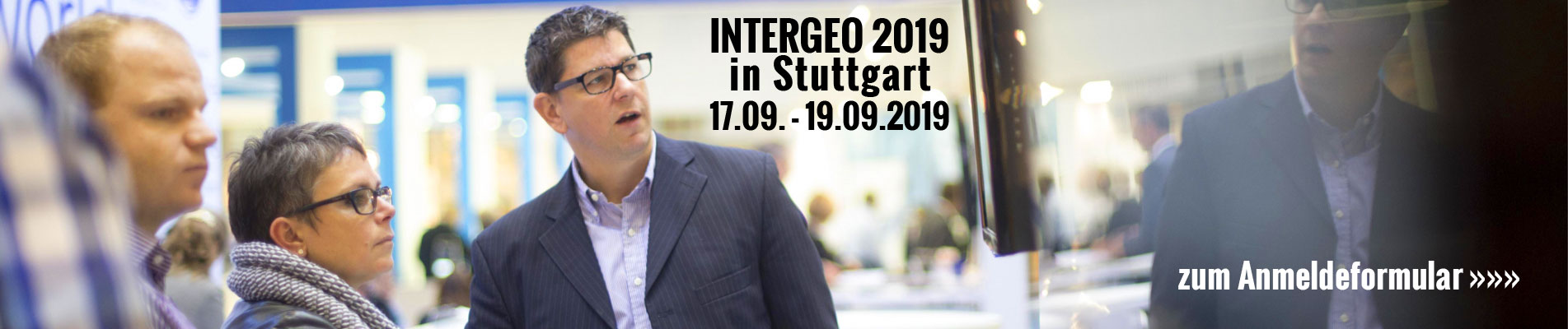 INTERGEO in Stuttgart vom 17.09.- 19.09.2019